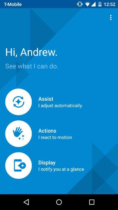 Moto G Moto App 1Moto G Moto App 1