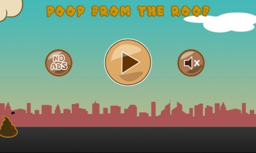 Make it rain with Poop From The Roof (App Review)