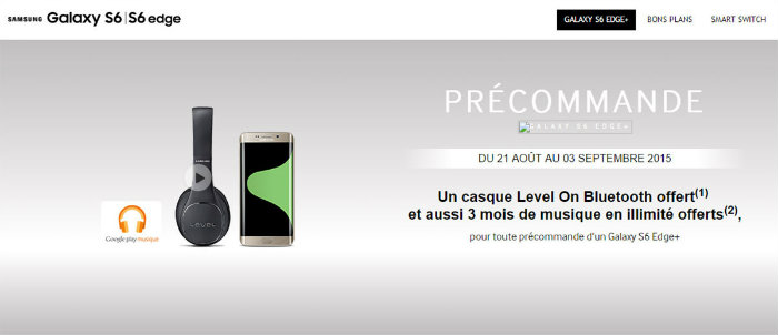 S6 Edge Plus Samsung France Featured