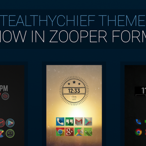 Get This Look: 'Stealthy Zooper' Zooper Widget
