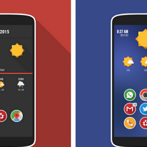 Get This Look: 'Plastix' Zooper Widget
