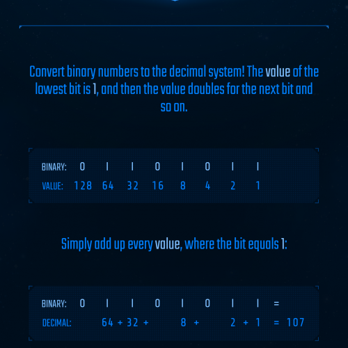 Want to learn binary? Binary Challenge has you covered!