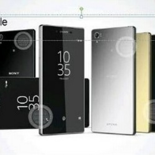 Possible promo image for Sony Xperia Z5+ appears