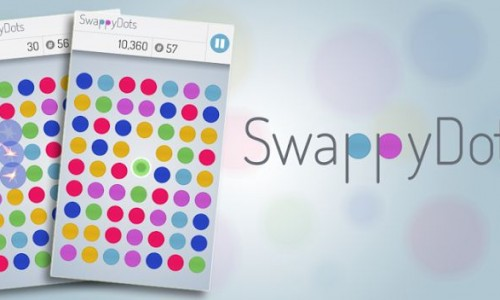 Kill some time and have some fun with SwappyDots (App Review)