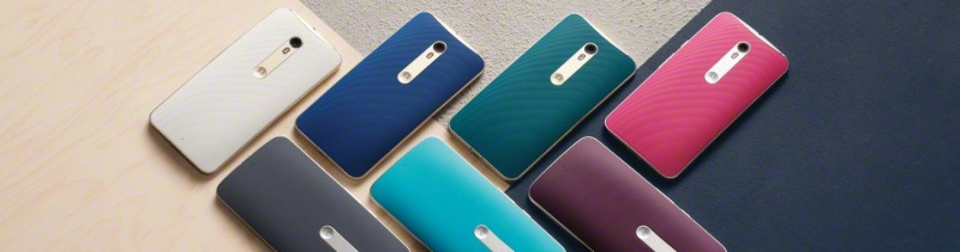 MotoMaker customization options for the Moto X Style