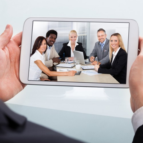 Video conferencing for small screens: Android edition