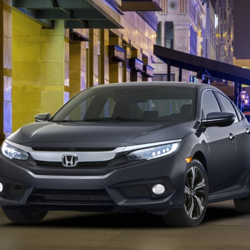 2016 Honda Civic makes its debut with Android Auto