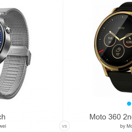 Moto 360 (2015) vs Huawei Watch: The battle for the most watch-like smartwatch