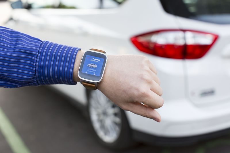 Ford's MyFord Mobile on Android Wear
