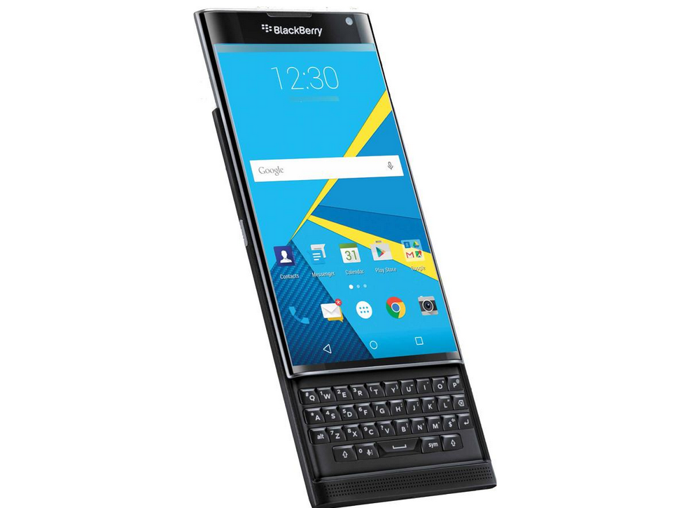 BlackBerry Priv render