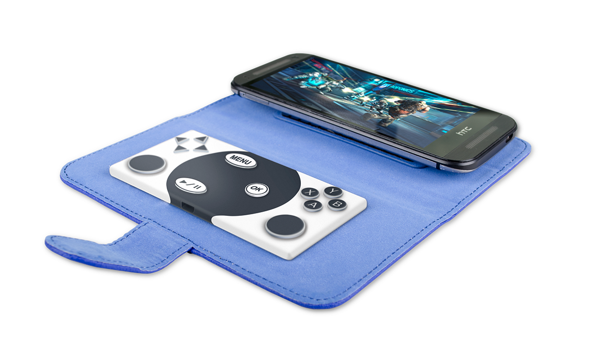 The Gamebeat A Portable Gaming Controller And Phone Case