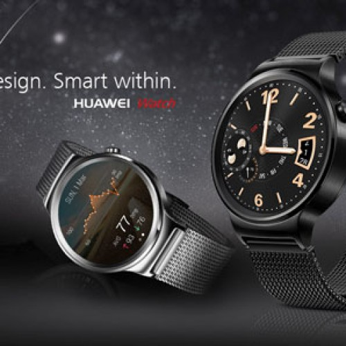 Starting today you can pre-order your Huawei smart watch