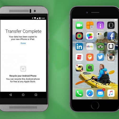 Apple releases app for Android users to switch easily to iOS