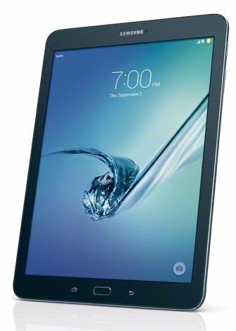 Samsung Galaxy Tab S2 front angle