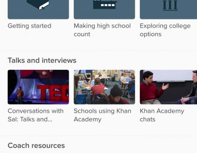 how to use khan academy app