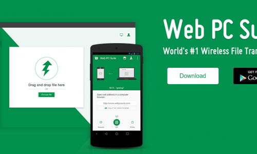 Easily transfer files to your device with Web PC Suite (App Review)