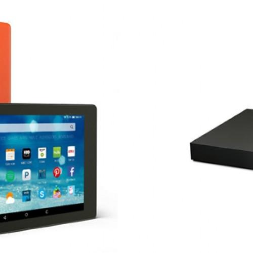 Amazon announces seven new devices for Fire tablet, Fire TV portfolio