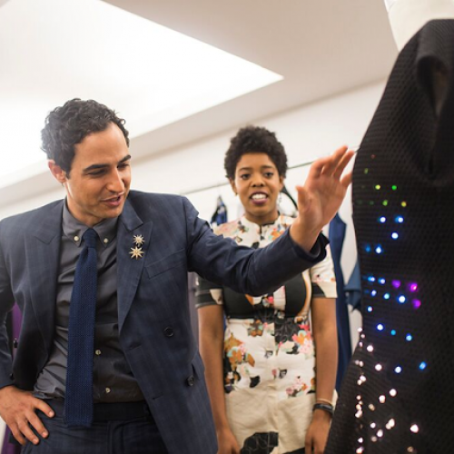 Google teams up with Zac Posen to inspire young girls to code