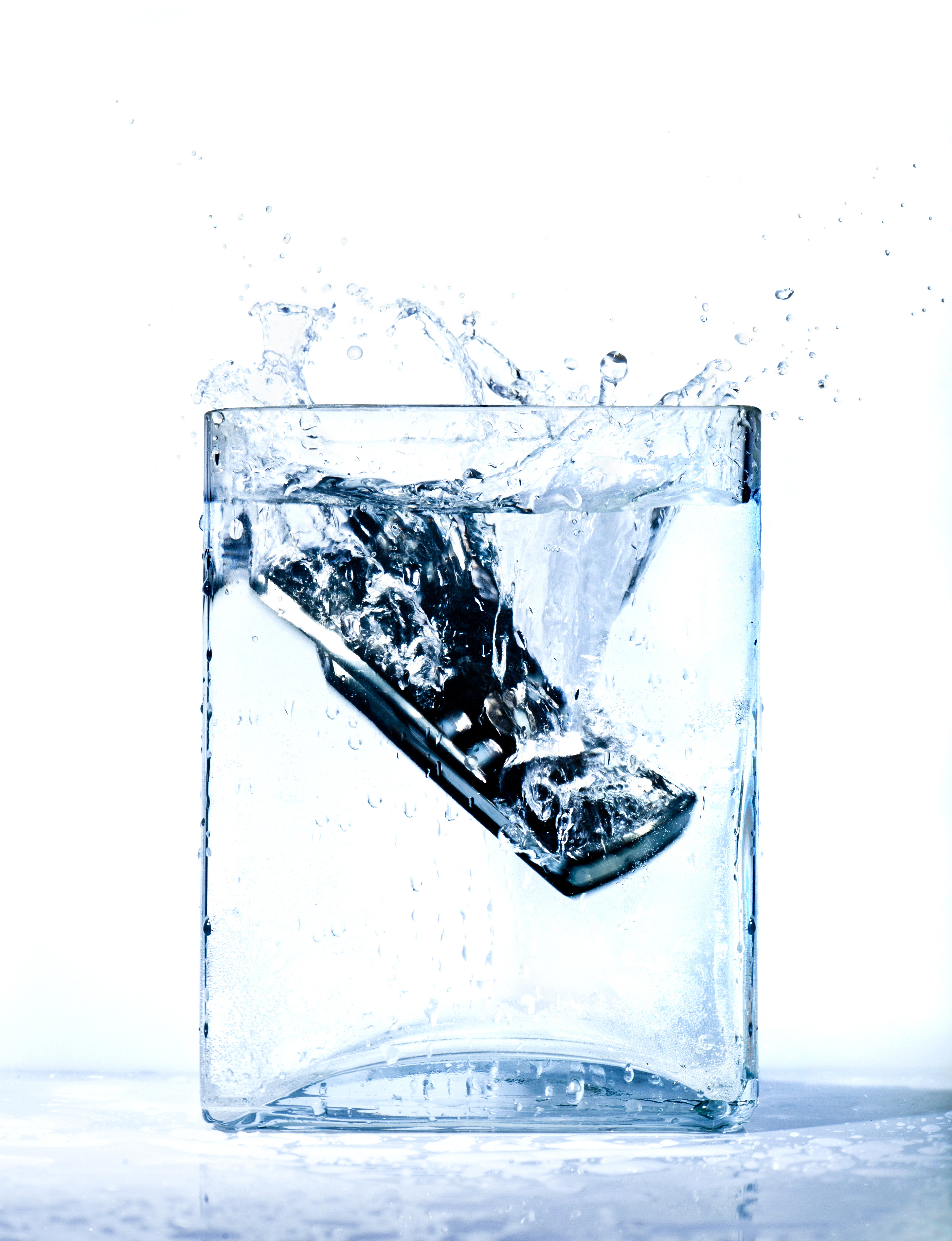 So you got your phone wet now what for Dropped iphone in swimming pool