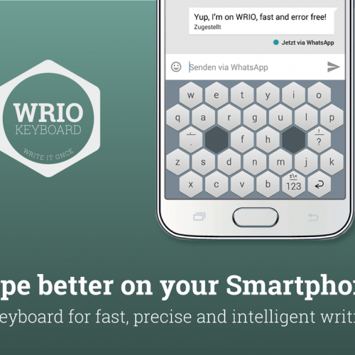 WRIO keyboard app hopes to revolutionize typing from a smartphone