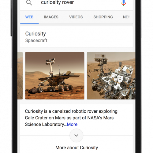 Google updates its Search page and Now Cards