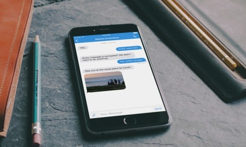 TextSecure: a privacy-oriented, text messaging client (App review)