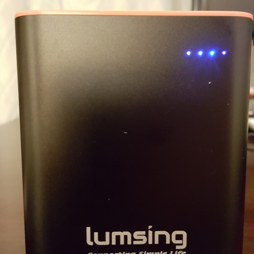 Lumsing Grand A1 compact 13400mAh portable power bank