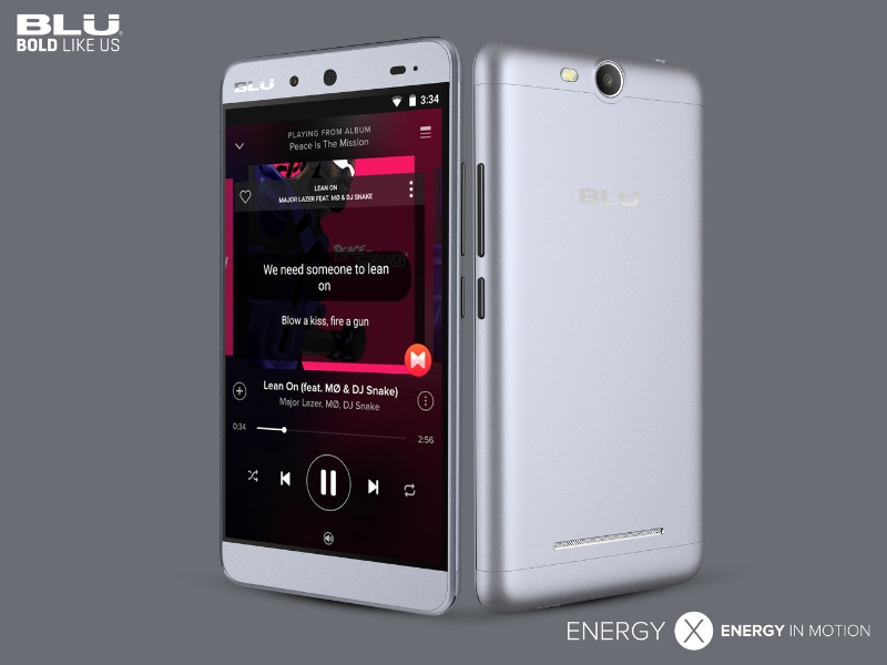 Energy X (PRNewsFoto/BLU Products)