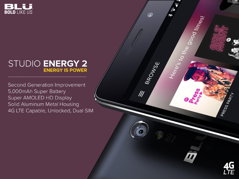 Studio Energy 2 (PRNewsFoto/BLU Products)