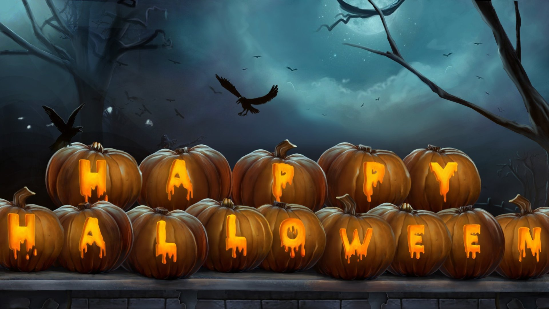 20 HD Wallpapers For Your Halloween Spirit.