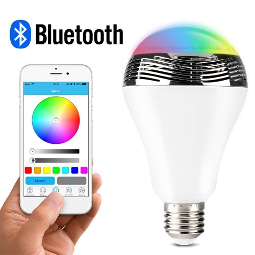 The light bulb that did it all: The 1byone wireless Bluetooth speaker RGB light bulb (Review)