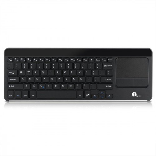 1byone Wireless Bluetooth keyboard with an integrated touchpad (Review)