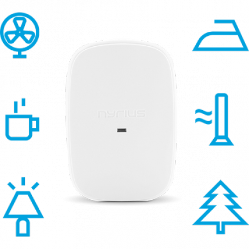 Automate your home or business with the Nyrius Smart Outlet