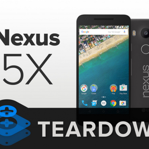 Nexus 5X gets torn down, scores well on repairability