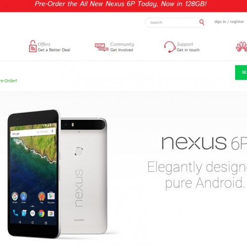 Huawei is selling the Nexus 6P direct while Google waitlists new customers, financing available too
