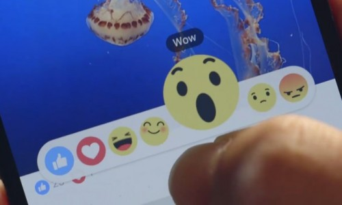 Facebook goes beyond Like, trialing new 'Reactions'