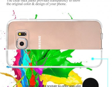 Samsung Galaxy S6 Swees Transparent TPU Case