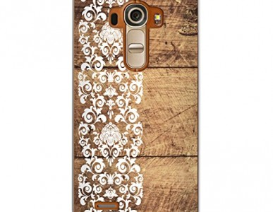 LG G4 CasesByLorraine Wood Print Hard Case