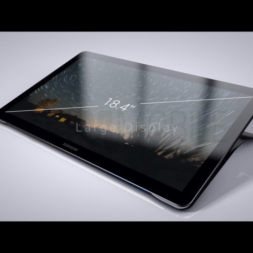 18.4 inch Galaxy View images leaked
