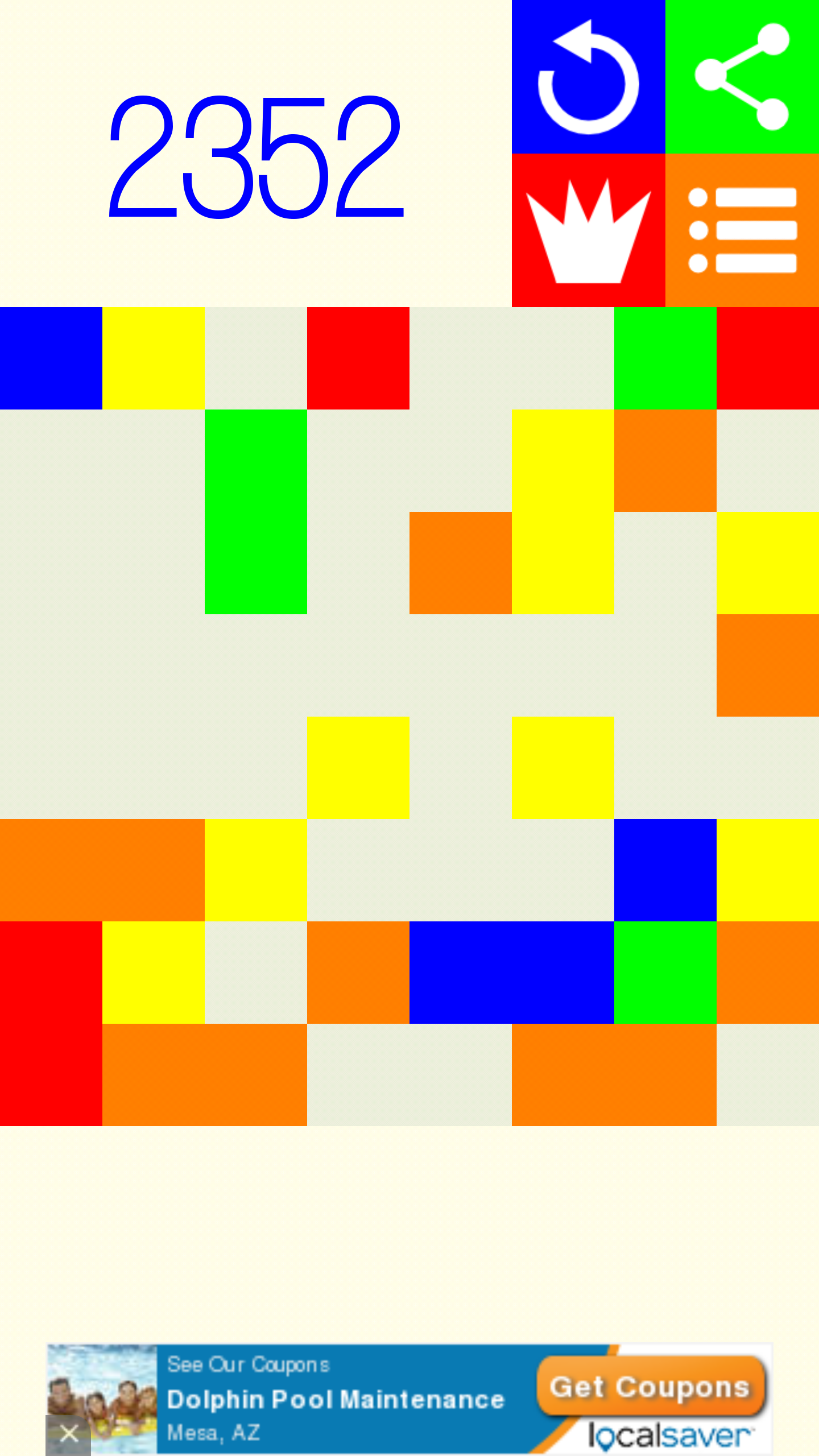 Seven Squares: a color matching puzzle game (App Review)