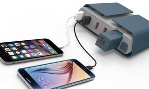 TYLT's Energi Charging Station charges all your devices at home or on the go