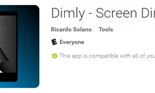 Lower your screen's minimum brightness with Dimly (App Review)