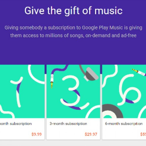 How To: Gift a Google Play Music subscription
