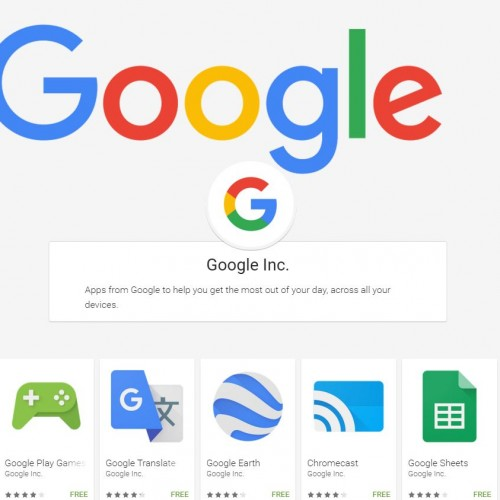 Where to go to download all of the Google developed Android apps