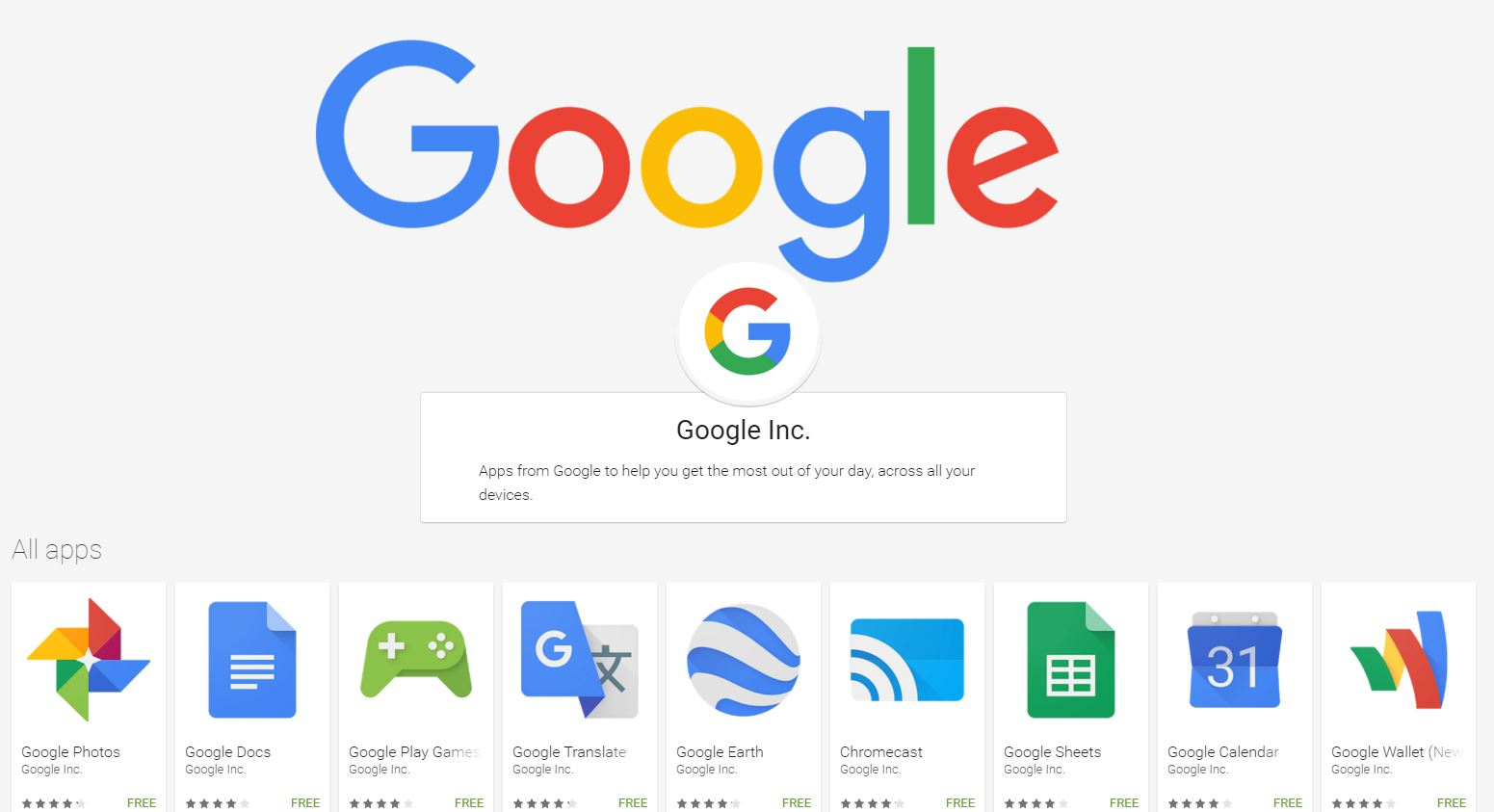 Where to go to download all of the Google developed ...