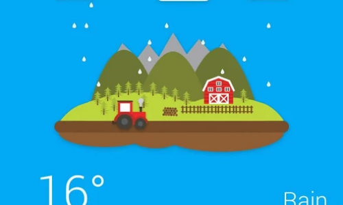 Look at the weather in a beautiful way with Weather 360 (App Review)