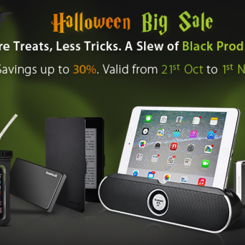 Inateck offering deals through Halloween, check out what's on sale
