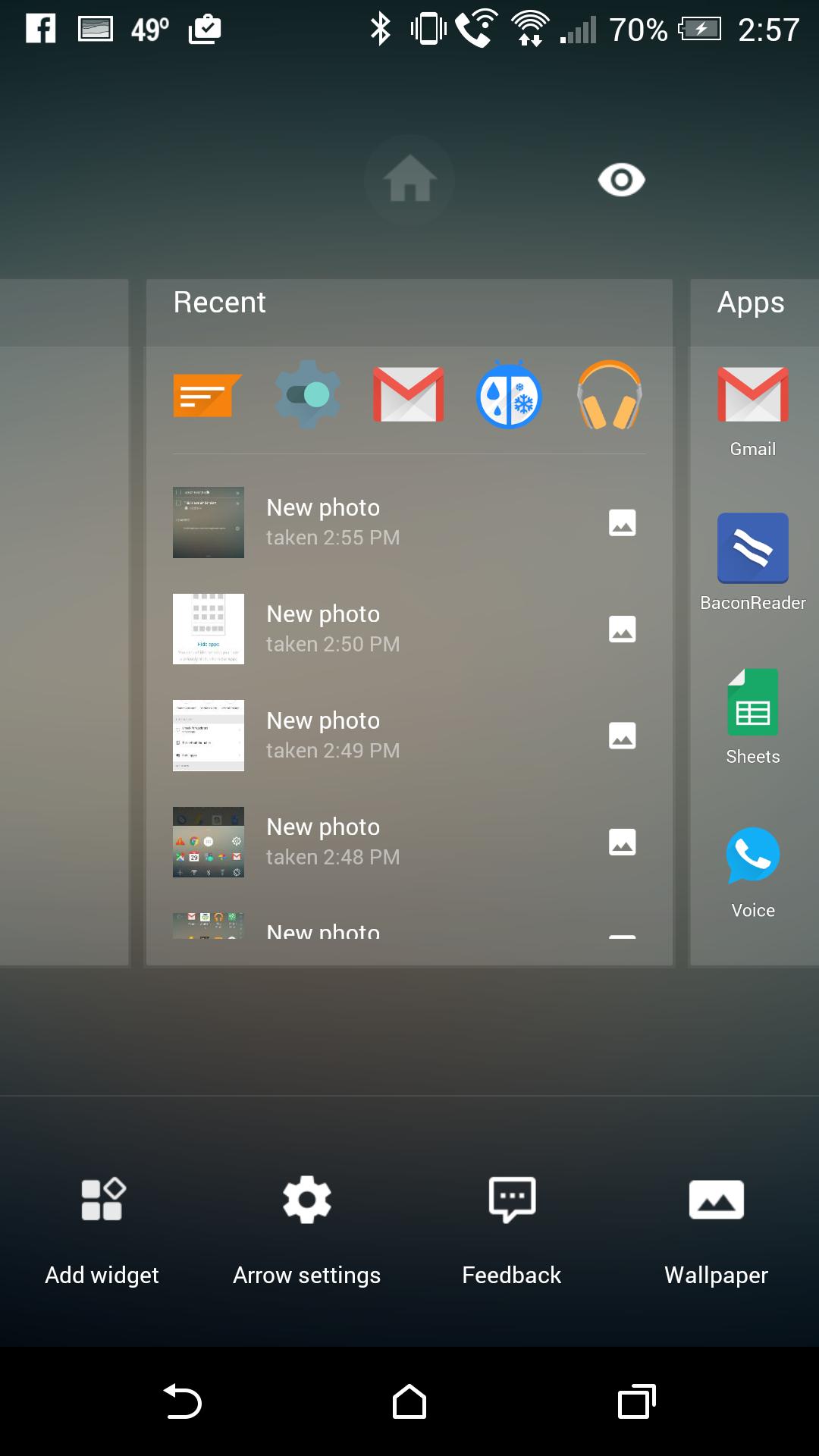 Microsoft Arrow Launcher 10 Androidguys