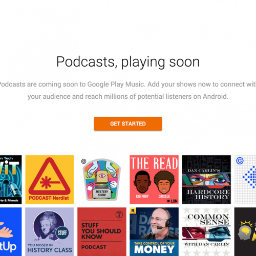 Google Play Music will soon be your next source for podcasts