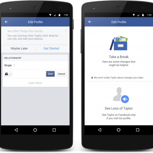 Facebook adds new tools to help manage your breakup